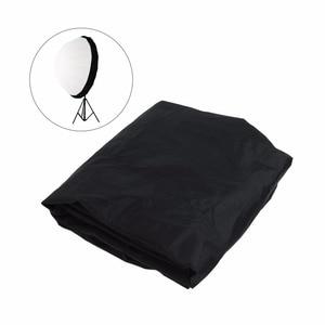 Image 1 - Prêt Stock 105cm 41 pouces Flash Speedlite diffuseur Softbox réflecteur parabolique parapluie noir couverture tissu