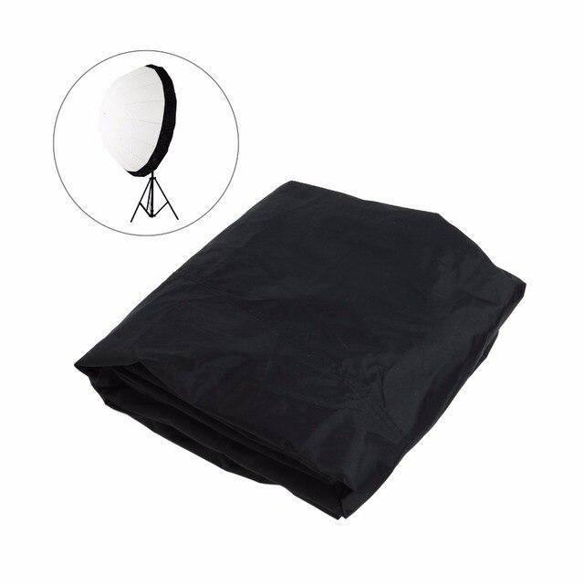 Prêt Stock 105cm 41 pouces Flash Speedlite diffuseur Softbox réflecteur parabolique parapluie noir couverture tissu