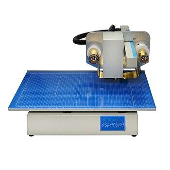 LY 500A ручная фольга пресс машина цифровая Горячая фольга штамповочная печатная машина лучшие продажи цветные Визитки печати
