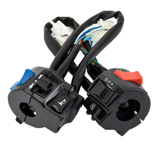 1 Pair Button Waterproof On Off Light Indicator Multifunctional Electric Simple Scooter Power Universal Motorcycle Handle Switch