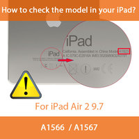 protective pu leather Multi-folded Soft Tablets Case For iPad Air 2 9.7 Protective Covers TPU+PU Leather Smart Tablet Case For iPad Air Case iPad 9.7 (2)