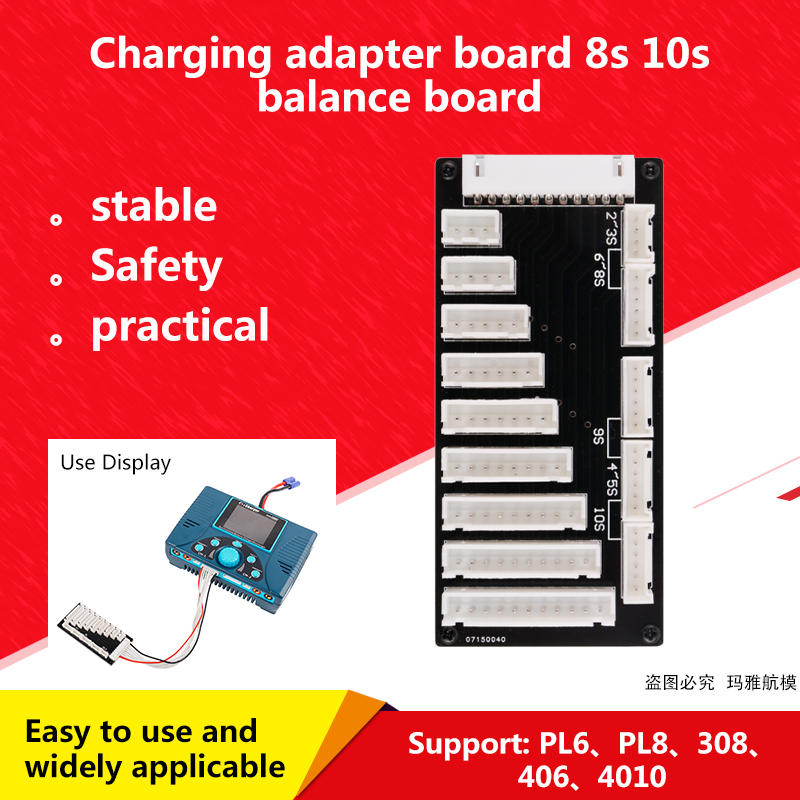 For Icharger 4010 Duo 308 Duo Pl8 Pl6 8s 10s Parallel Parallel Charging Board Adapter Charger Plate Balance Charing Cable Line Parts Accessories Aliexpress