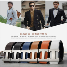 2019 Luxury Designer H Brand Designer Belts Men High Quality Male Genuine Real Leather Women Belt H Buckle Strap for Jeans