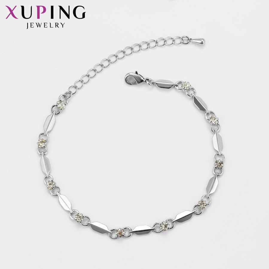 Xuping Style européen Bracelets Style breloque Bracelets pour femme filles Imitation bijoux cadeaux de fête S84.1-75165