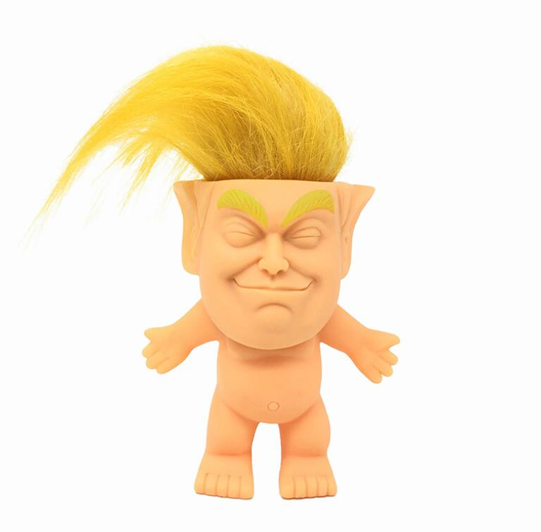 New Donald Trump Stress Squeeze Ball Jumbo Squishy Toy Cool Novelty Pressure Relief Kids Doll Decor Squeeze Fun Joke Props Gift