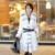 2016 Señora Esquilada Abrigo de Piel de Conejo Real Chaqueta de Piel de Zorro Collar de Invierno Genuino de Las Mujeres de Piel de Abrigos de Vestir Exteriores Delgada Ropa 3XL 4XL