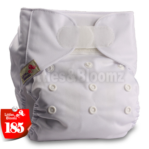 [Littles&Bloomz] Детские Моющиеся Многоразовые, настоящая стандартная ткань, застежка-липучка, карман для подгузников, пеленки, обертывание, подходит для рождения в горшке - Цвет: 185