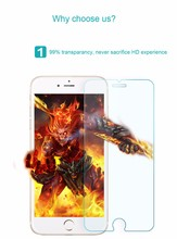 ecran protecteur 0 3mm Premium Tempered Glass for iPhone 6 4 7 9H Hard 2 5D