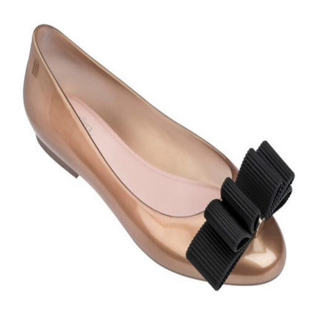 caac161a3a03c Melissa Girls Sandals Big Bow Parent-child Shoes Women Jelly Sandals 2019  New Women Melissa