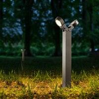 LED Lawn lamps Outdoor lighting IP65 Waterproof LED 5W Aluminum Garden lights Yard Path Flood lights street Light AC 110V 220V