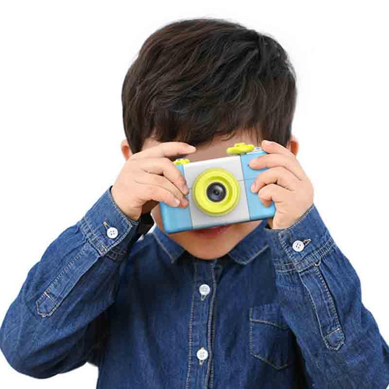 Mini LSR Cam Appareil Photo Numérique 1.6 Millions de Pixels Pour Enfants Bébé Mignon de Bande Dessinée Multifonctions Jouet Enfants Creative Caméra Cadeau