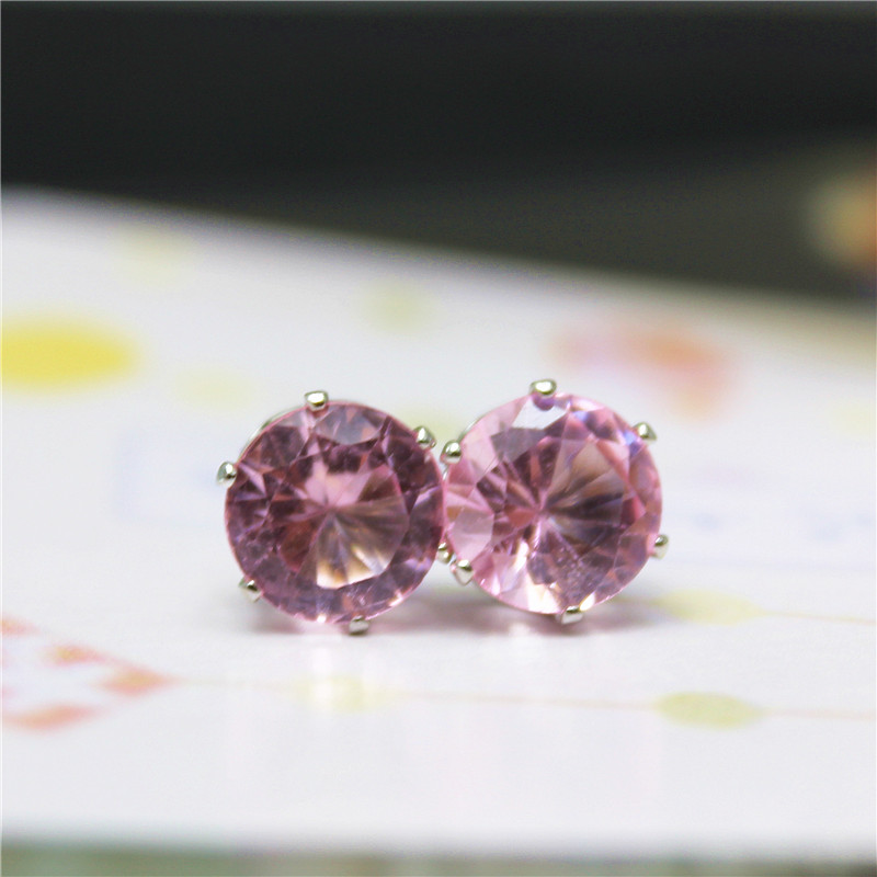 2019 New Brand Jewelry Luxury Austrian Crystal Earrings Stud Earrings For Women Female Gold Bijoux Jewelry