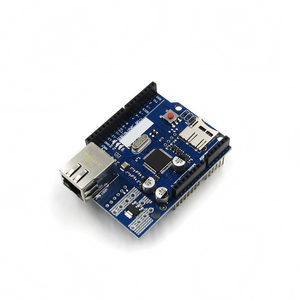 Ethernet щит W5100 R3 Поддержка PoE для Arduino UNO Mega 2560 Nano