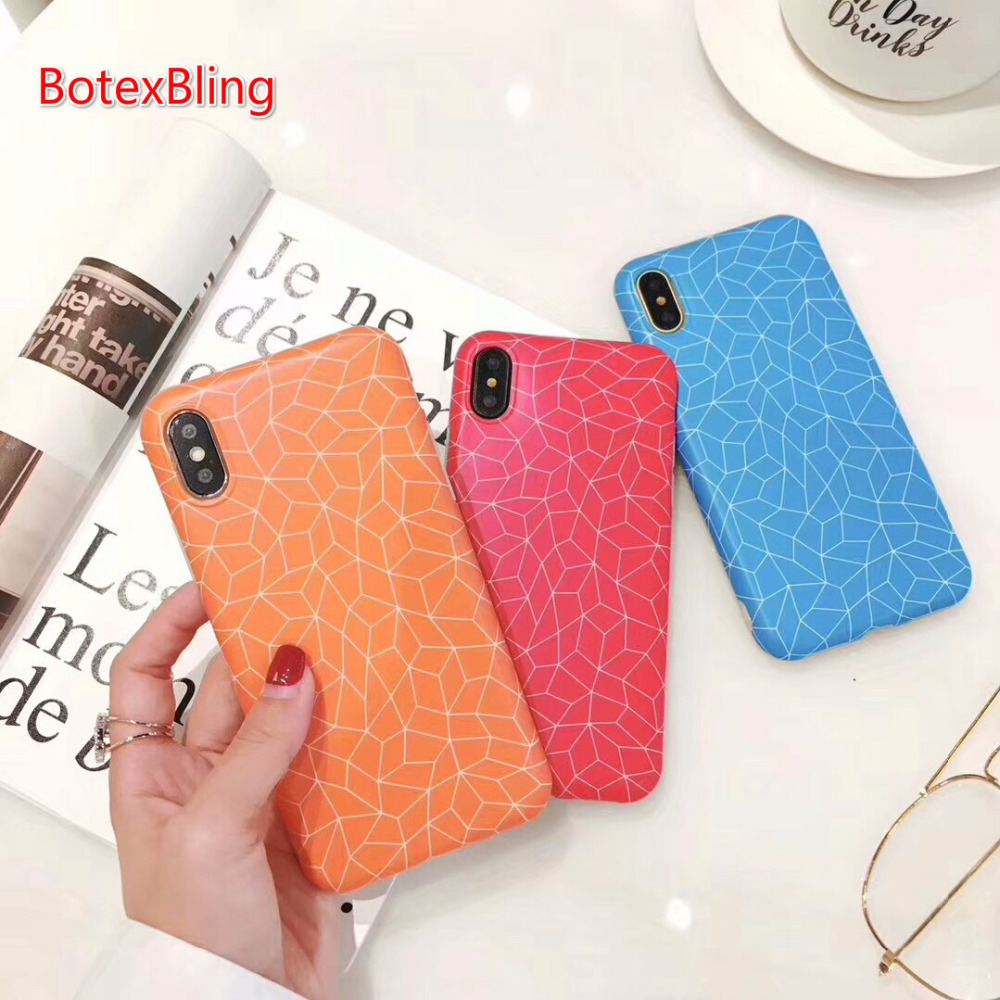 BotexBling font b 2018 b font new case watercube rhombus soft TPU silicone cover for font