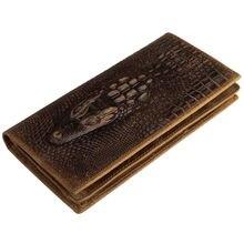 Fashion Men Visiting Cards Wallets Women's Retro Genuine Leather Wallet Holder Women Purse Ladies Coin Bags Men's Clutch Purses