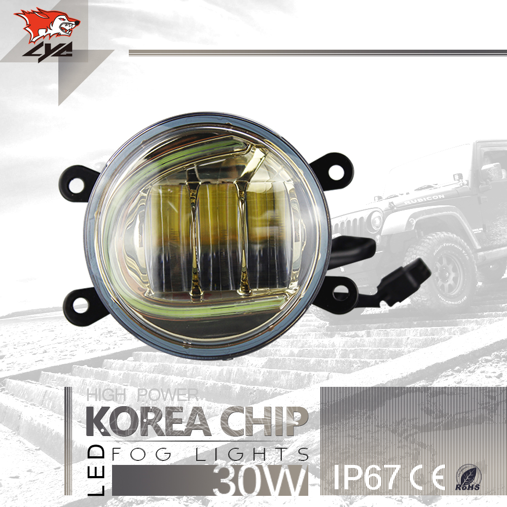 Lyc for jeep wrangler fog light covers led lights for auto parts led driving light reviews how to ins