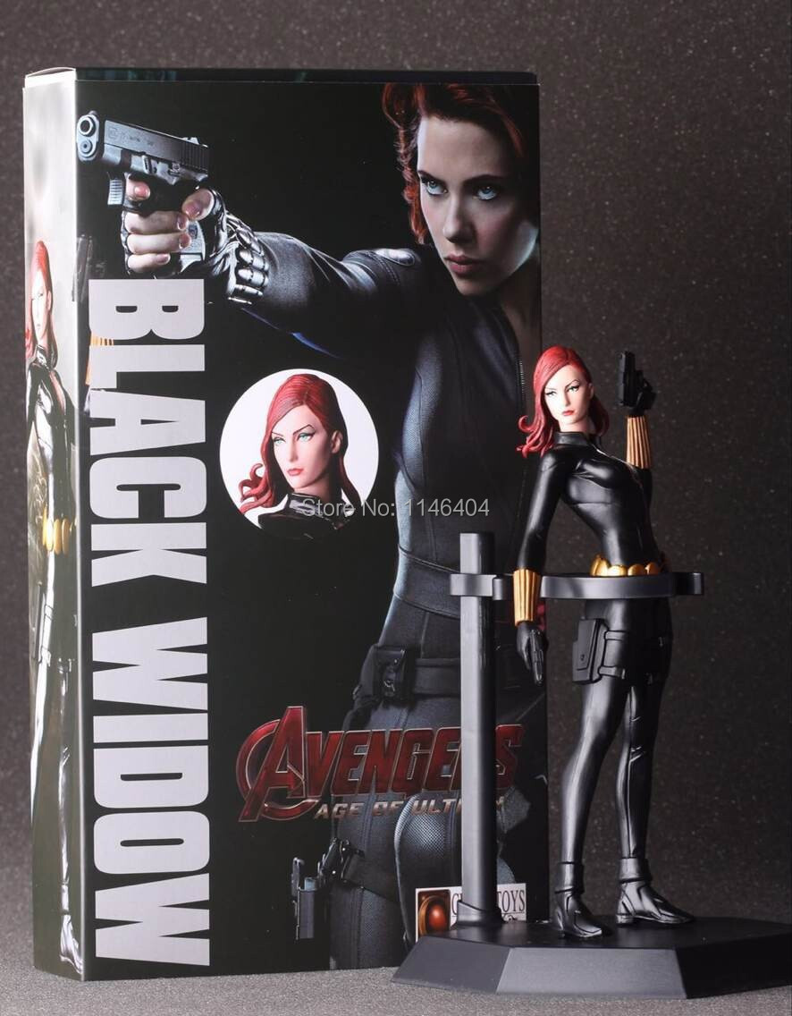 Louco Toys   2 Black Widow PVC Action Figure Model Collection Toy 7  18 CM 7 18cm crazy toys marvel the avengers 2 toy black widow pvc action figure collection model