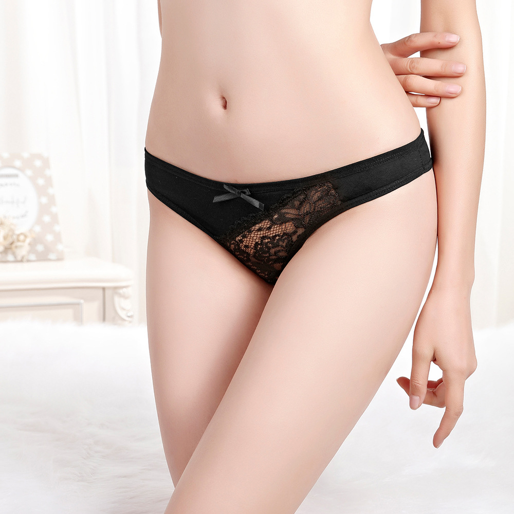 Panties For Women 6pcs lot Lace Womens Underwear Sexy G String Thongs Floral Seamless Sexy Panties Lingerie Bragas Mujer in women 39 s panties from Underwear amp Sleepwears