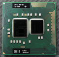 Процессор INTEL I3 380m  двухъядерный  2 53 ГГц  L3  3 м  PGA 988  работает на HM55  бесплатная доставка