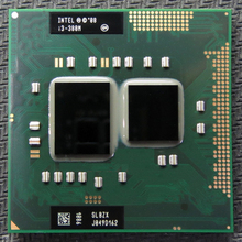 Free shipping INTEL  I3 380m  Dual Core 2.53GHz L3 3M PGA 988 CPU Processor works on HM55