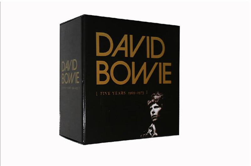 Free Shipping: David Bowie Five Years1969--1973 12CD 5th Anniversary Edition CD Seal