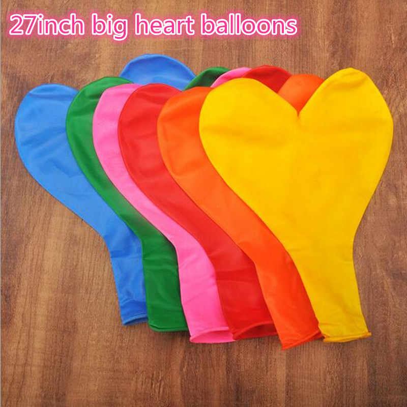 ФОТО 10pcs/lot heart balloon thickening big balloons wedding supplies party birthday colors ballon helium inflable100% latex balloons