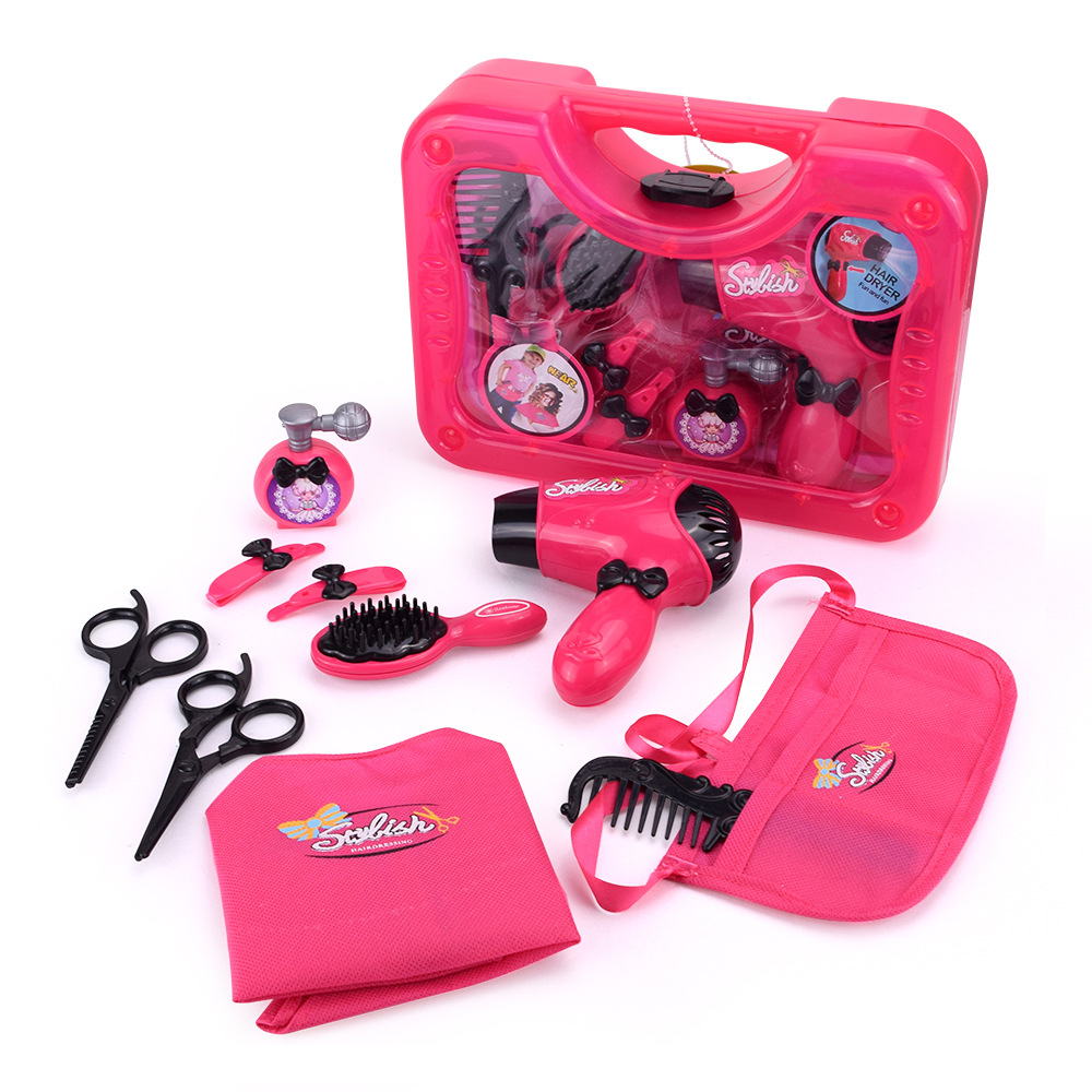 Beauty Toy Hair Dryer Cosmetics Toys Plastic Pretend Play Simulation ...