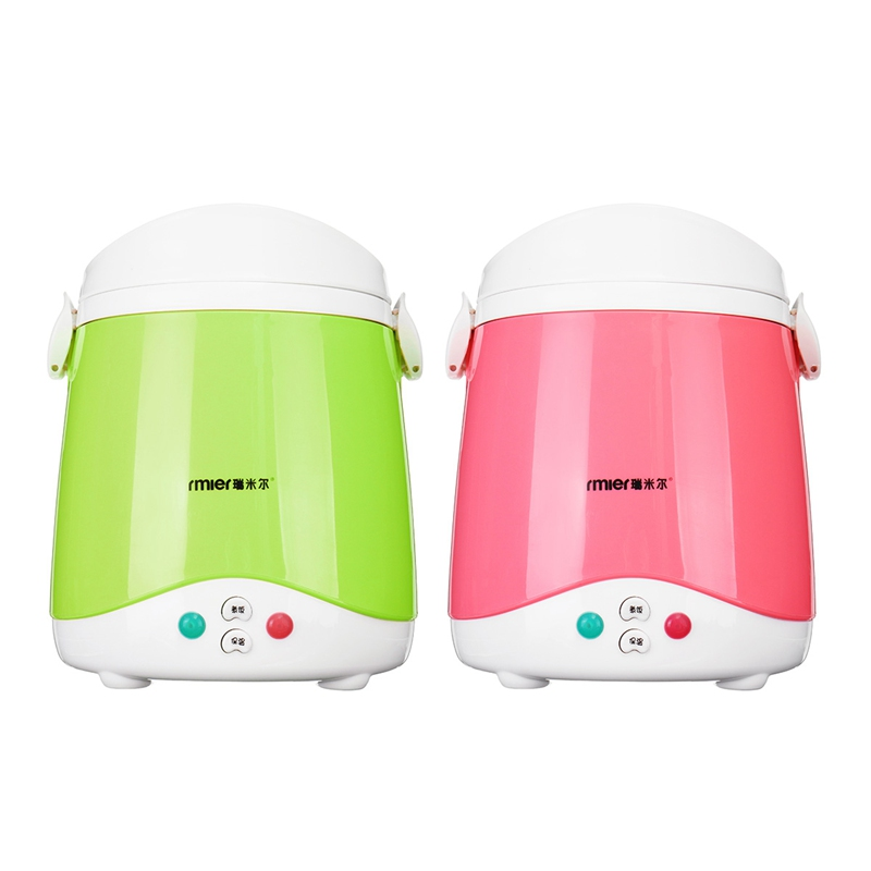 1.5L Portable Car Rice Cooker 12V 120W Multifunctional Cook Rice Porn&Soup Food Warmer Stain Steel Liner Traveling Meal Heater cukyi mini multifunctional rice cooker 700w two liners wifi function cook stew 3l for 2 4 persons 3d heating household cooker