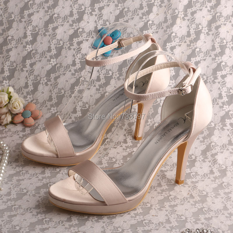 ФОТО Wedopus MW546 Fashion Nude Women Sandals Shoes Dress Pumps Nightclub Platform