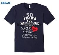 GILDIAN Món Quà Kỷ Niệm 50th 50 năm Wedding Hôn Nhân ý tưởng