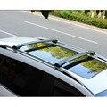 Оптовая продажа алюминиевый сплав Крест Бар серебряный и черный цвет багажник на крышу для FJ LAND CRUISER 07 +
