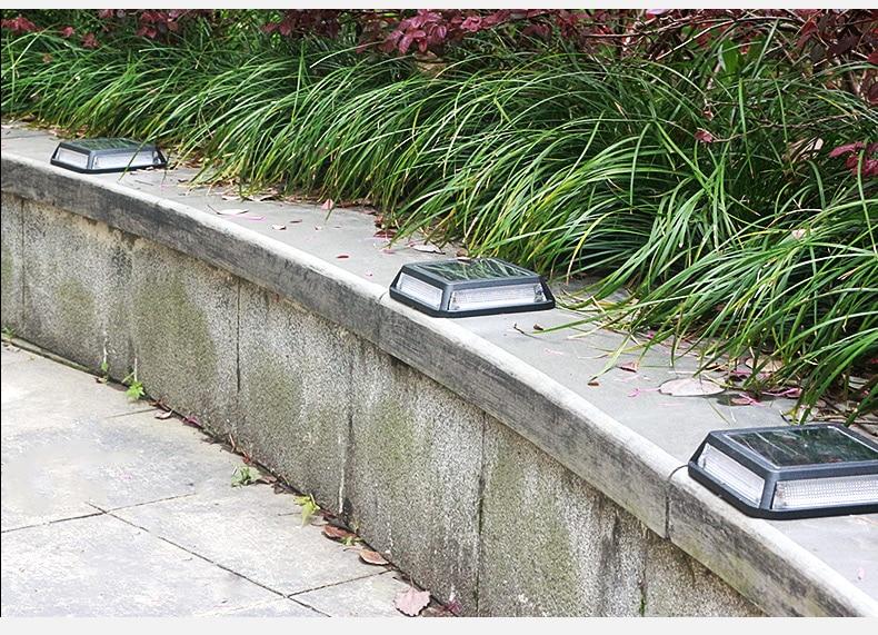Licht & Beleuchtung 2 Led Solar Boden Lampe Ip65 Wasserdichte Outdoor Garten Dekoration Landschaft Rasen Pfad Treppen Unterirdischen Begraben Nacht Licht Waren Jeder Beschreibung Sind VerfüGbar Solarlampen