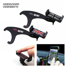 For MINI Countryman F60 F55 Clubman F54 Phone Holder Car Styling For MINI Cooper Accessories Mobile Phone Bracket For MINI F56 phone stand car phone holder on steering wheel for bmw mini cooper f54 f55 f56 clubman countryman holder