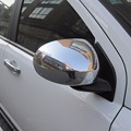 2Pcs Chrome Side Door Rearview Mirror Cover Trim For Jeep Compass 2011 2012 2013 2014 2015 2016 [QPA319]