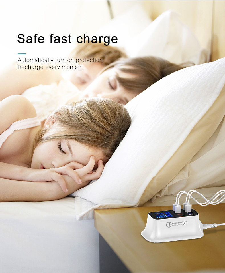 Qualcomm quick charger 3.0  type c fast charging USB charger (3)