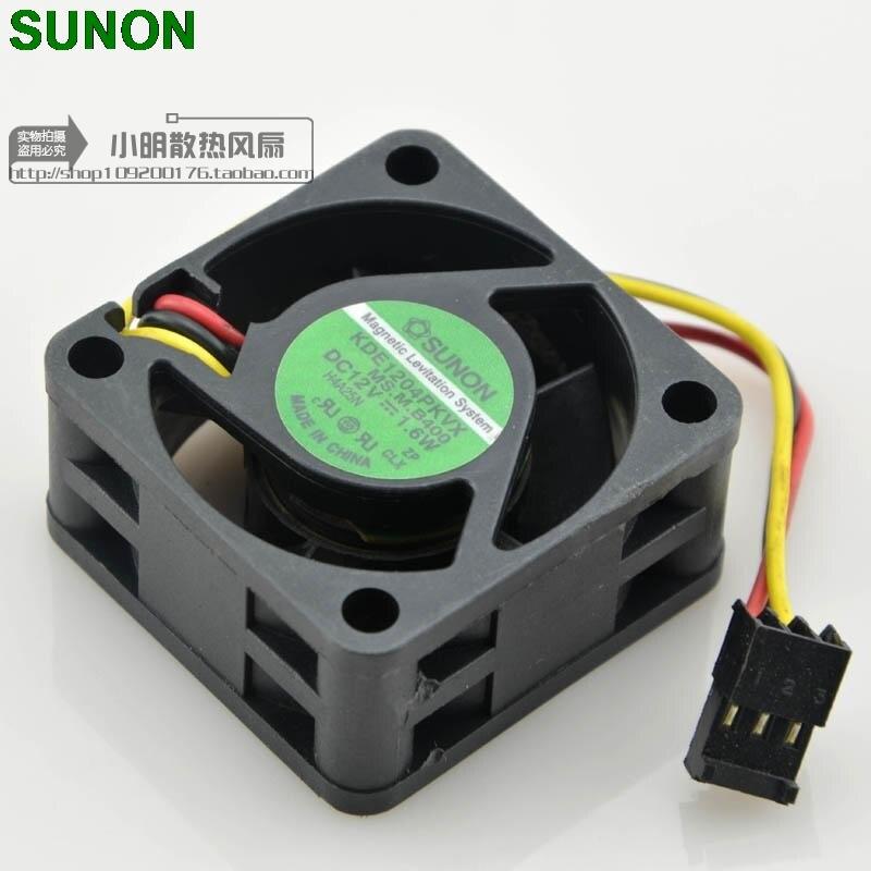 SUNON KDE1204PKVX MS. m. b400 12 v 1.6 w ventilateur de refroidissement serveur 4020 40x40x20mm 4 cm