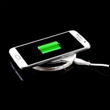Для Samsung Galaxy S6 Edge Plus Беспроводной Зарядное Устройство Зарядки Случаи телефон Аксессуар Для Galaxy S6 S7 Plus Примечание 5 7 Зарядное Устройство случае