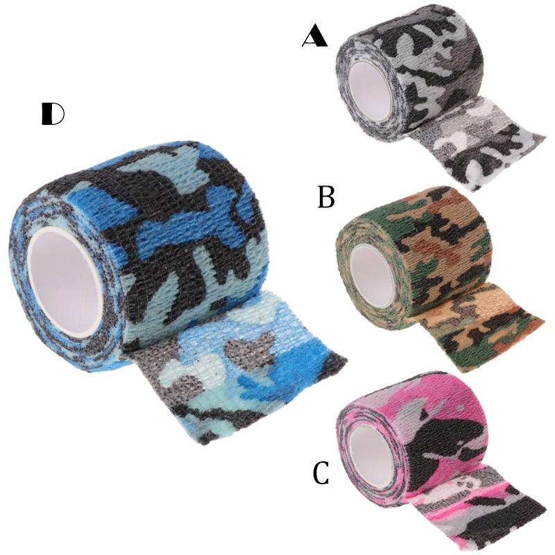 Tattoo Self-adhesive Non-woven Elastic Bandage Grip Tube Cover Wrap Sport Tape