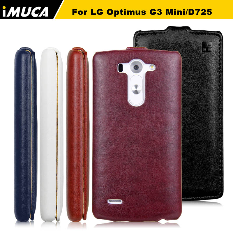 IMUCA For LG Optimus G3 Mini D725 Cases covers Vertical Flip Protective Cases LG G3S Mini