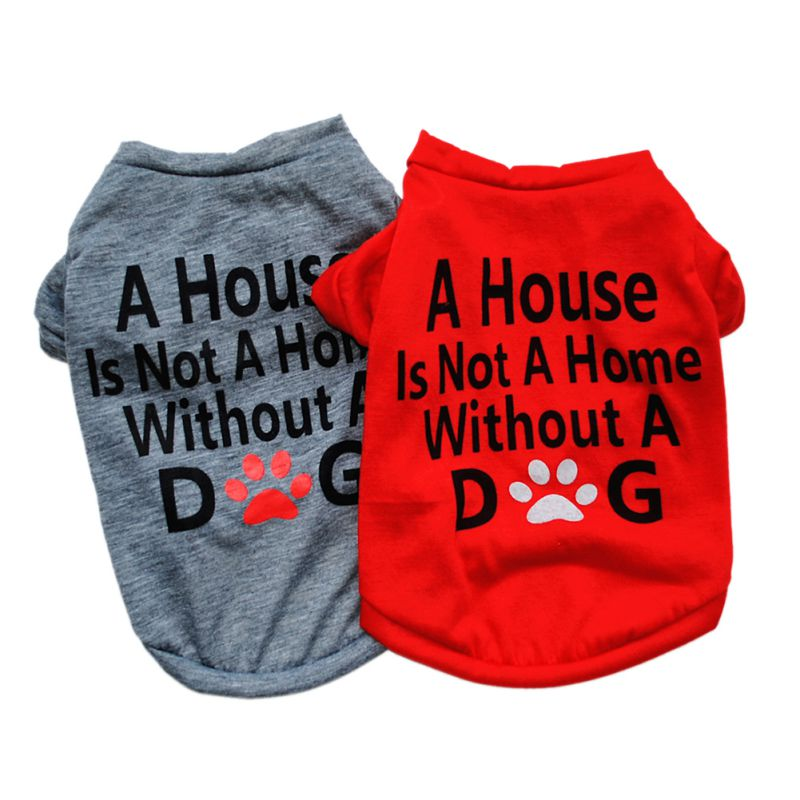 Pet Puppy Summer Vest Small Dog Cat Dogs Clothing Cotton T Shirt Apparel Clothes Dog Shirt Pet Clothing