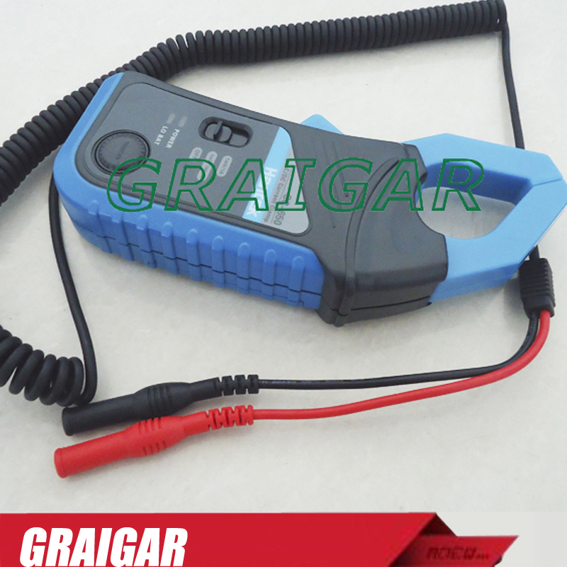 AC/DC Current Clamp Hantek CC-650 Oscilloscope BNC connector or multimeter rubber head мультиметр uyigao ac dc ua18