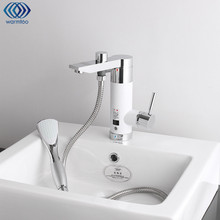 Мгновенный проточный В 220 В электрический водонагреватель кран холодный и горячий смеситель кран под водой электрическое отопление кухня ванная комната 3000 Вт