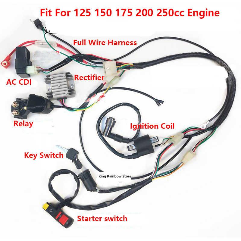 on kawasaki wiring harness connectors