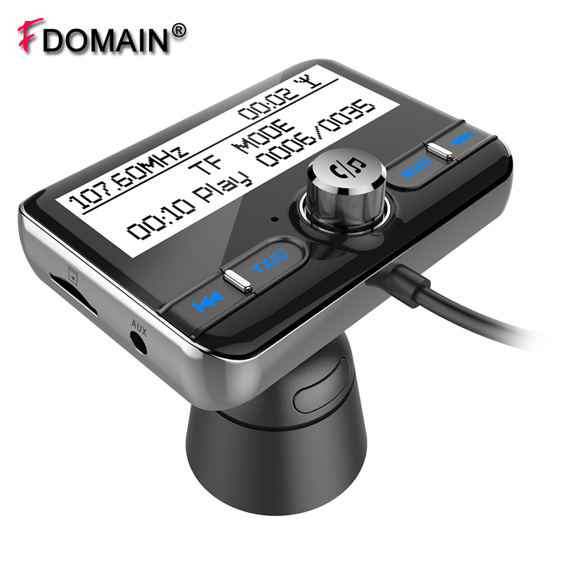 FDOMAIN Multi-function car DAB digital radio adapter auto stereo Bluetooth handsfree car kit MP3 player FM transmitter fdomain car dab plus digital radio receiver adapter fm transmitter with bluetooth handsfree