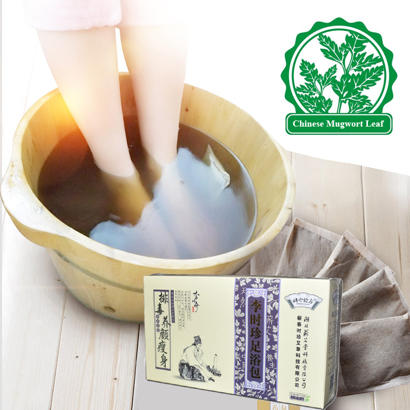 Herbal Foot Bath Powder fodmassage Spa Health Care Feet-8382