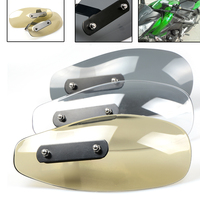 Motorcycle Accessories Wind Shield Handle Hand Guard ABS Transparent Handguards FOR Yamaha Tmax 500 530 XJR