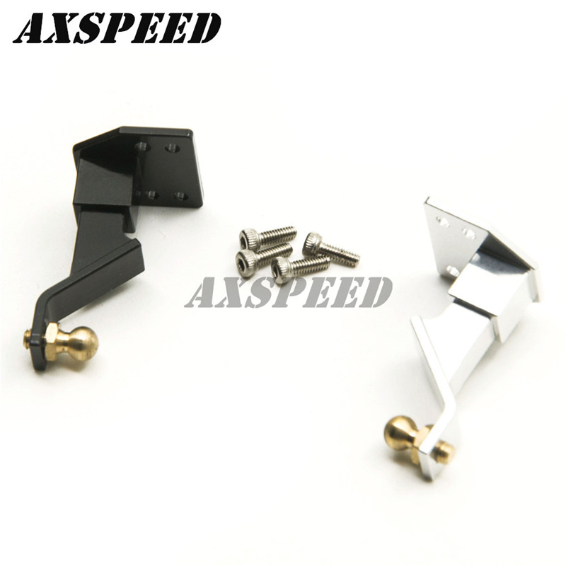 Aluminum Tow Shackle Hook Receiver Hitch Trailer for Axial SCX10 1/10 RC Crawler ...