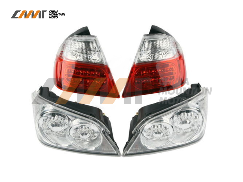 motorcycle Tail Light Brake Turn Signals With LED case for Honda GoldWind GL1800 2006-2011 New aftermarket free shipping motorcycle parts led tail brake light turn signals for honda 2000 2001 2002 2006 rc51 rvt1000r smoke