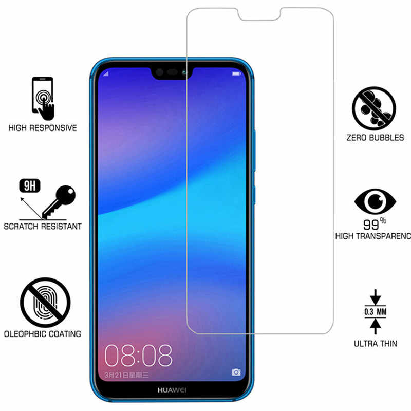 Protective Glass For Huawei P20 lite Mate 20 Pro P Smart 2019 screen protector on honor 10 9 Lite 8X For Huawei P20 lite Glas