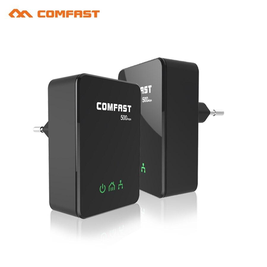 4 stücke 500 Mbps PowerLine Adapter EU stecker adapter ethernet bridge stromleitung...
